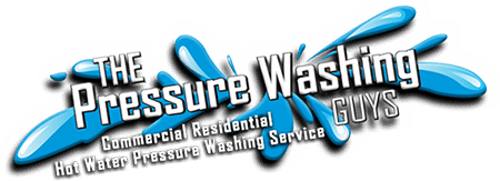 The Pressure Washing Guys Logo